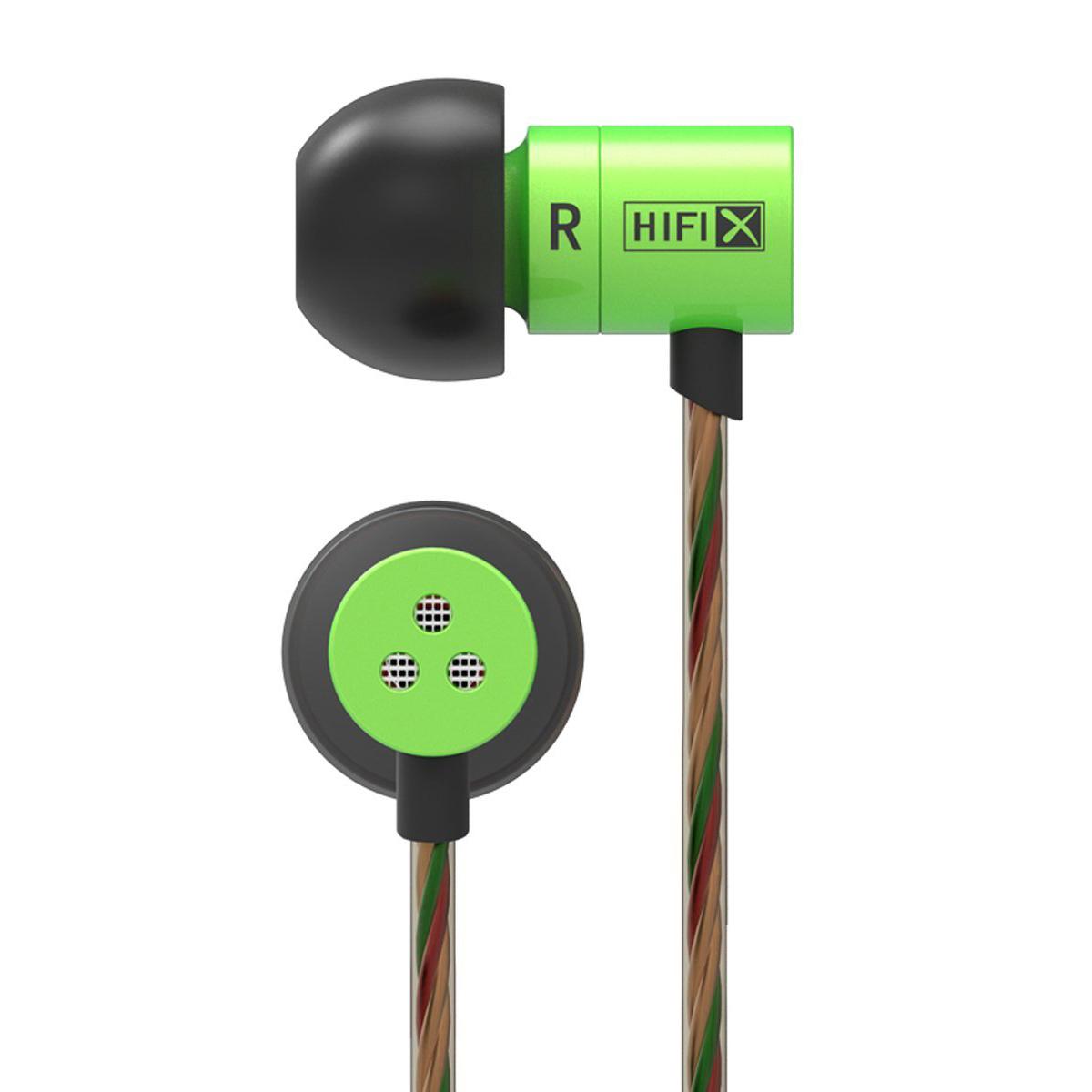 ขาย KZ HDS1 หูฟังอินเอียร์แนวใหม่จิ๋วแต่แจ๋ว ให้คุณภาพเสียงระดับ HD (สีเขียว)