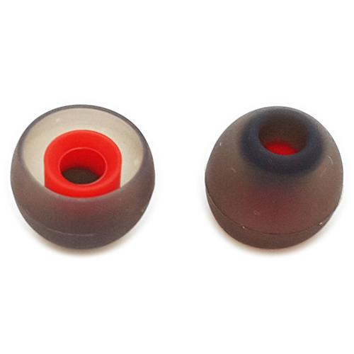 ขาย x-tips Red จุกยางเนื้อหนา แกนแดงขนาด 4mm 1 แพค 6 คู่ มี 3 ขนาด