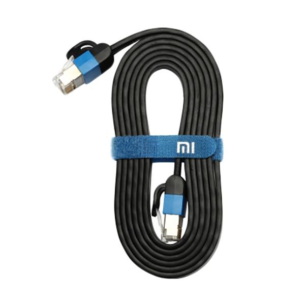 ขาย Xiaomi Ethernet Cable สายเคเบิ้ล Cat 6 RJ45 1000Mbps สายแบนเกรดพรีเมี่ยม ยาว 3M