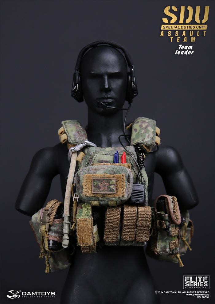 MP5K for Dam 78034 SDU Assault Team Leader 1//6 Scale Action Figure