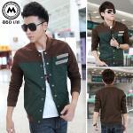 เสื้อแจ๊คเก็ต J025 สีเขียว (สินค้าไต้หวันนำเข้า-พร้อมส่ง)