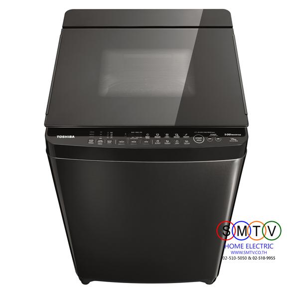 Toshiba เครื่องซักผ้าฝาบน 16 กก. รุ่น AW-DG1700WT(SS)