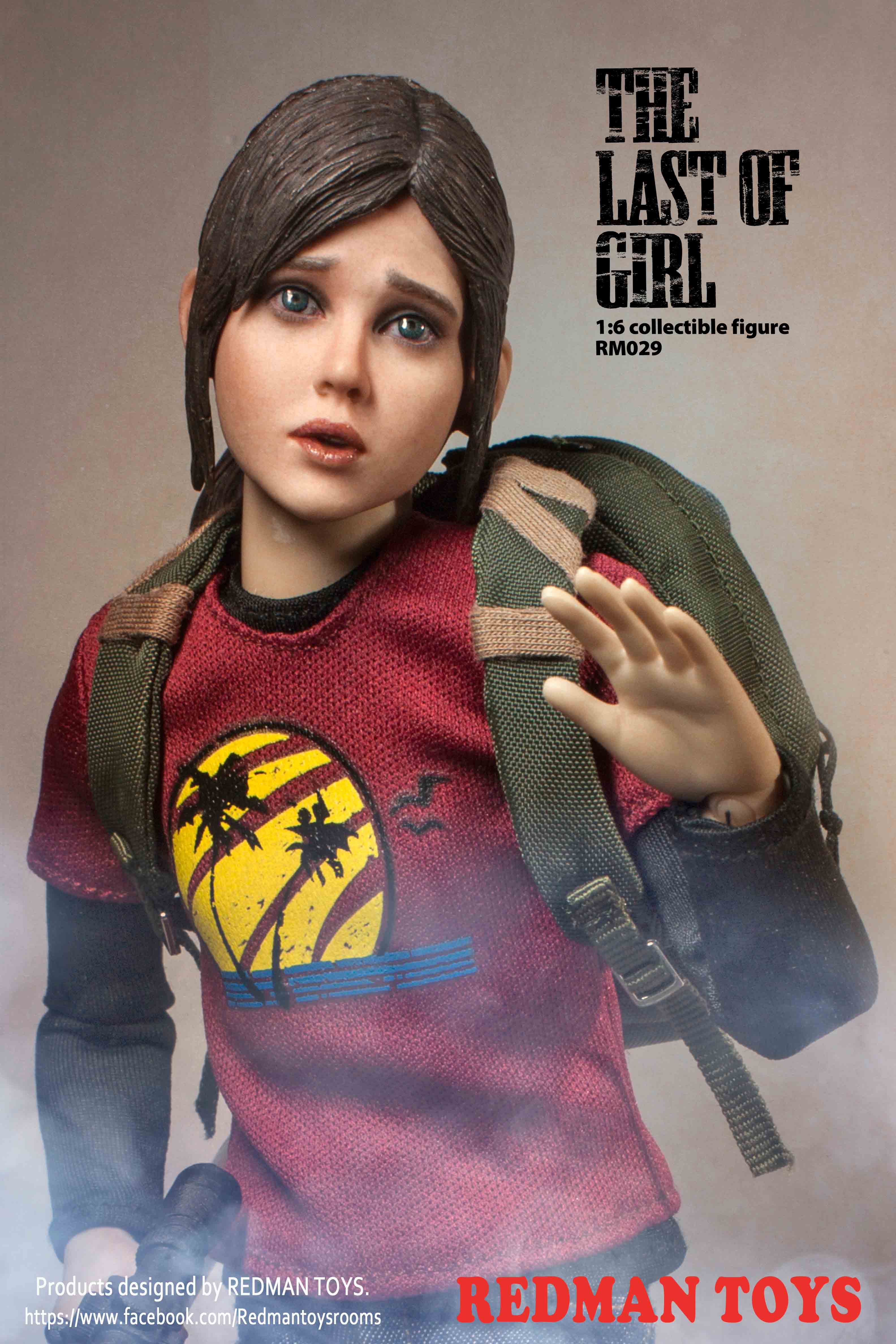 24/08/2018 REDMAN TOYS RM029 THE LAST OF GIRL
