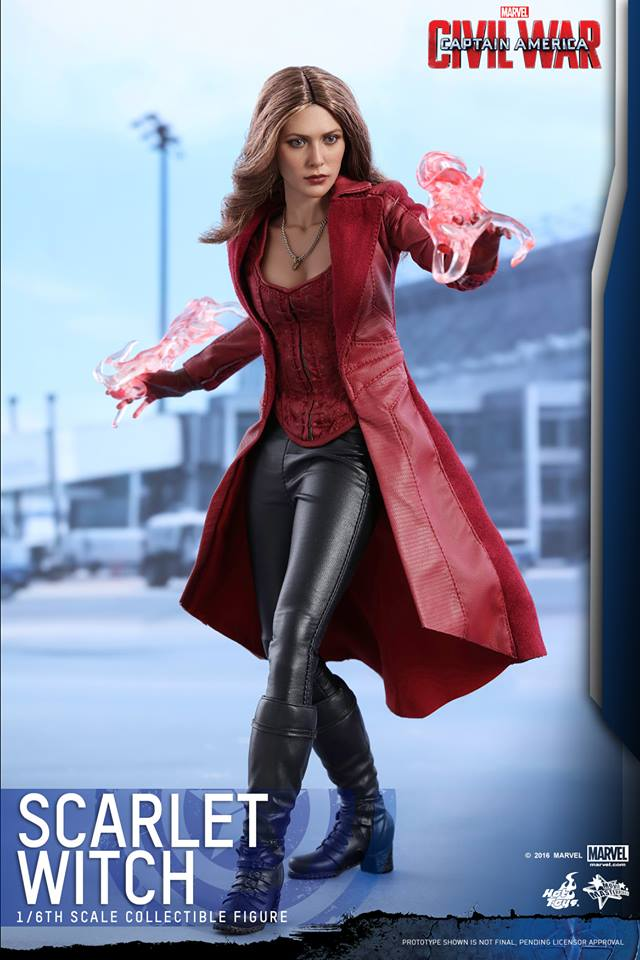 Hot Toys MMS370 CAPTAIN AMERICA: CIVIL WAR - SCARLET WITCH