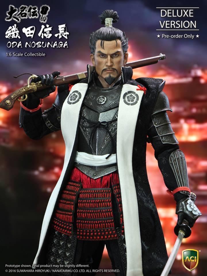 ACI Toys Oda Nobunaga (Deluxe Edition)