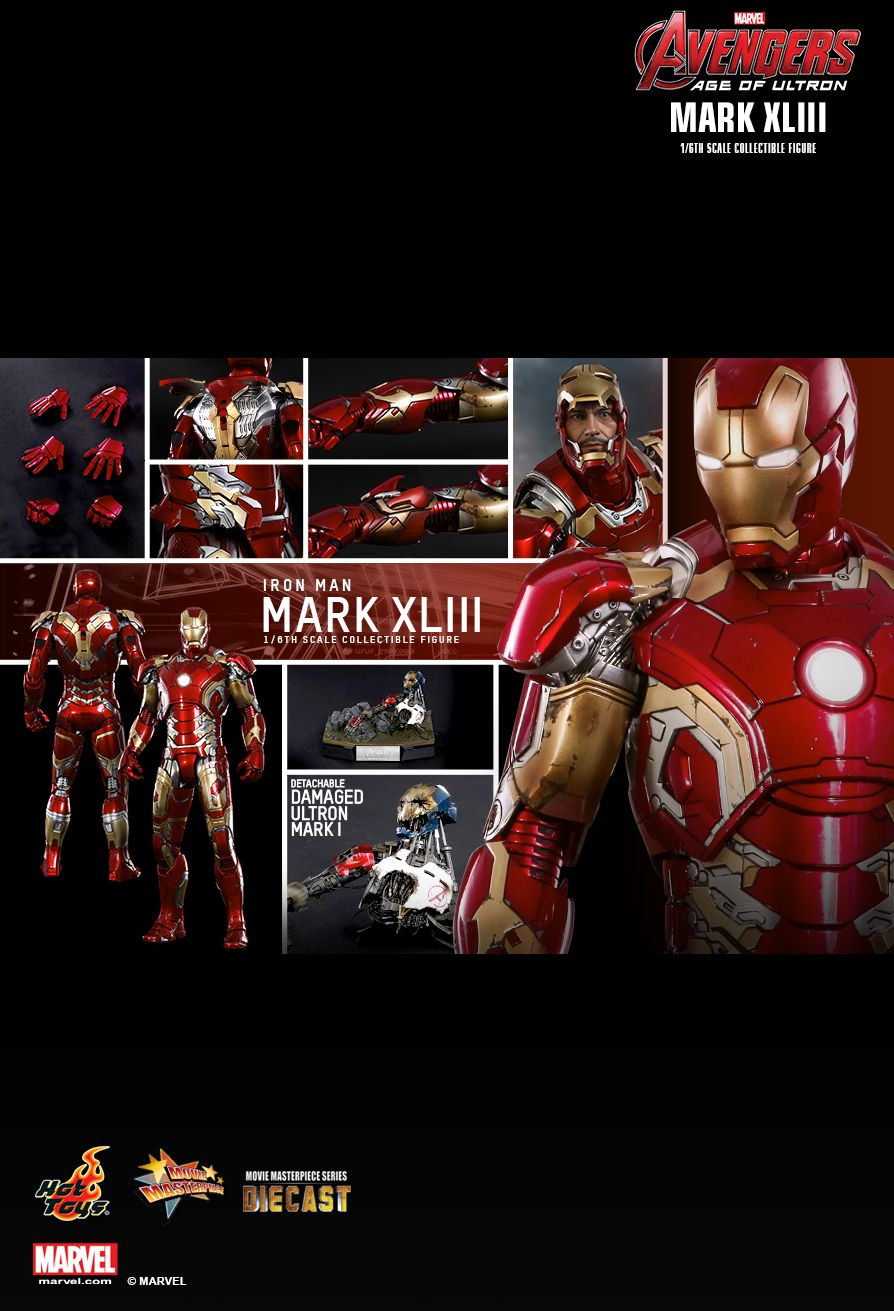 HOT TOYS AVENGERS: AGE OF ULTRON - MARK XLIII