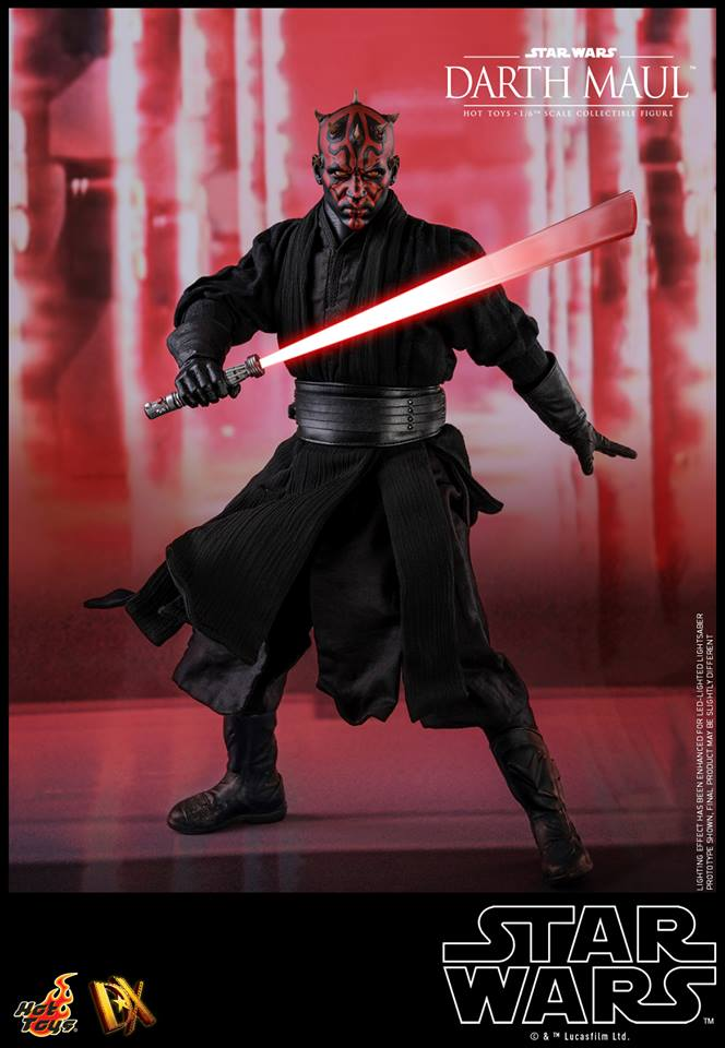 21/08/2018 Hot Toys DX16 STAR WARS EPISODE I: THE PHANTOM MENACE - DARTH MAUL