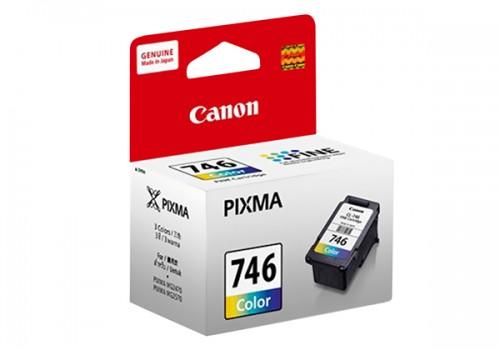 ตลับหมึกแท้ Canon 746 หมึกสี Color ราคา 750 บาท