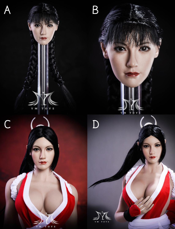 YMTOYS Fang Asian Beauty Headsculpt