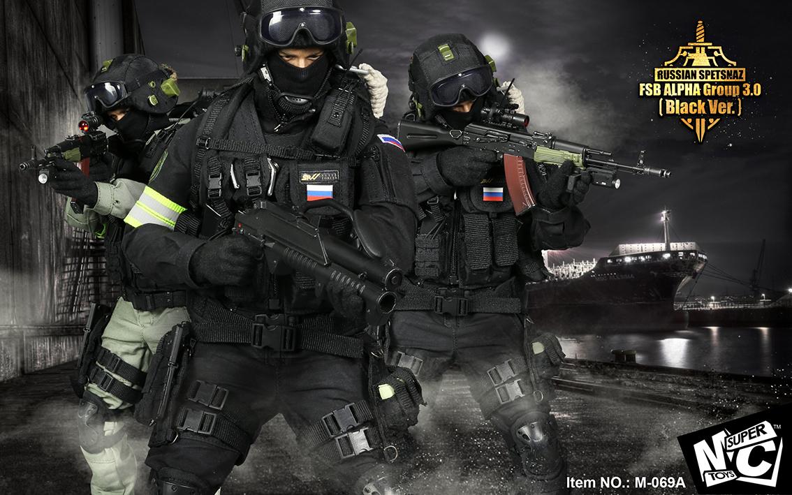 SUPERMCTOYS M-069A / M-69B Russian Spetsnaz - FSB Alfa Group 3.0
