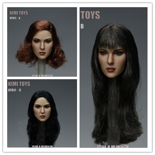 KIMI TOYS KT011 European and American Female Headsculpt
