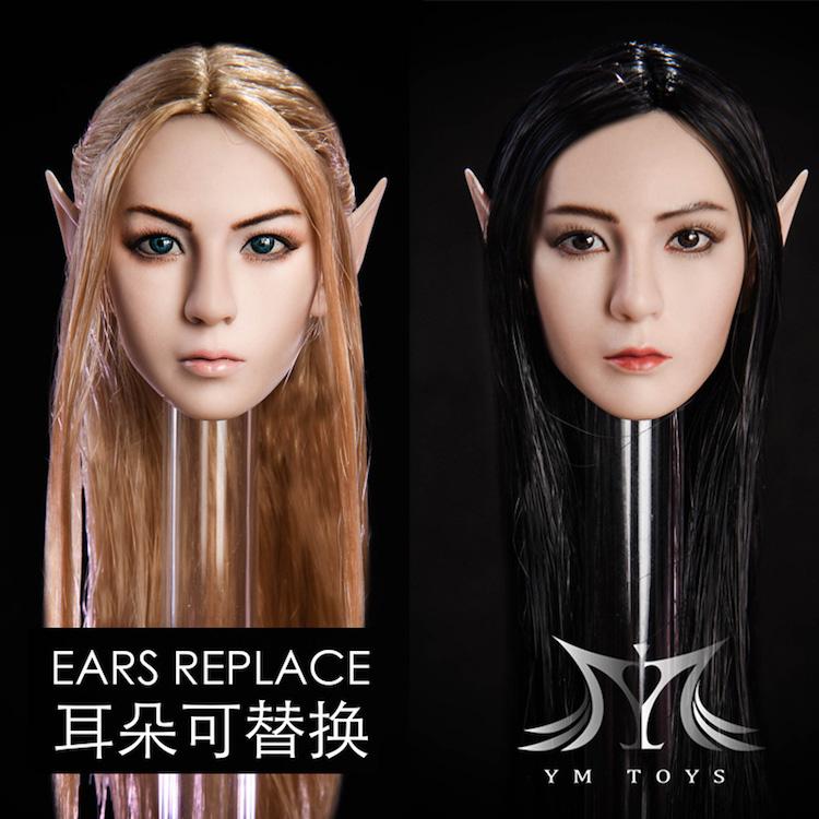 YMToys Elf Beauty headsculpt (can change ears)