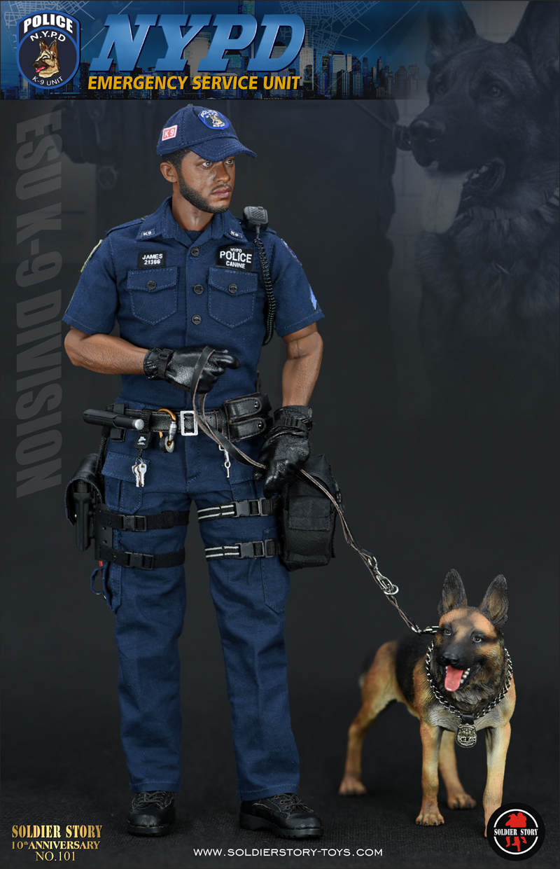 """23/01/2018 Soldier Story SS101 NYPD ESU """"K-9 DIVISION"""""""