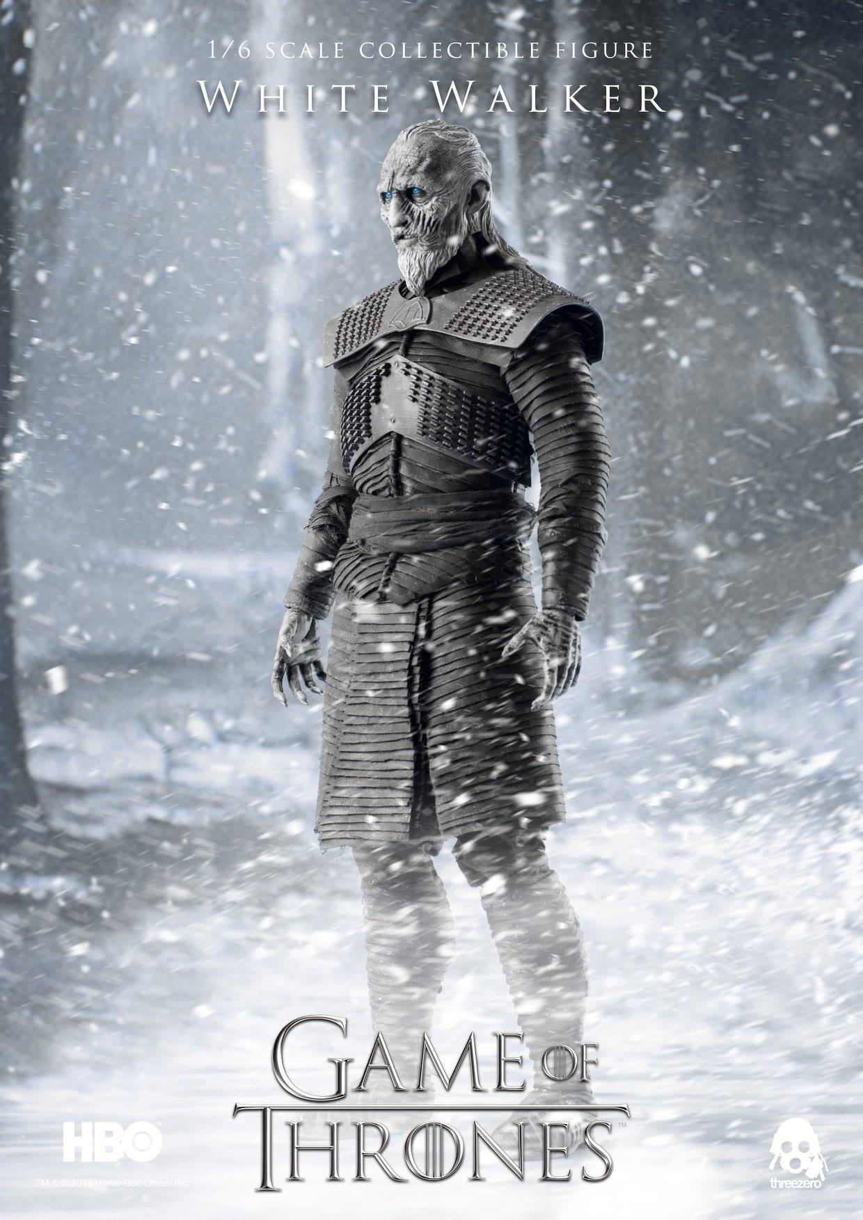 ThreeZero 3Z0037 Game of Thrones - White Walker