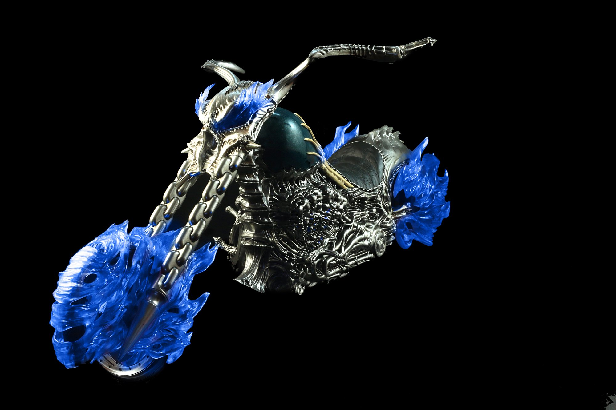 The Toys VF02 Ghost Rider Motorcycle (Lighting Ver.)