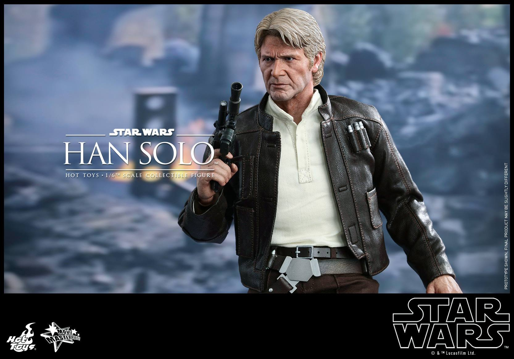 Hot Toys MMS374 STAR WARS: THE FORCE AWAKENS - HAN SOLO