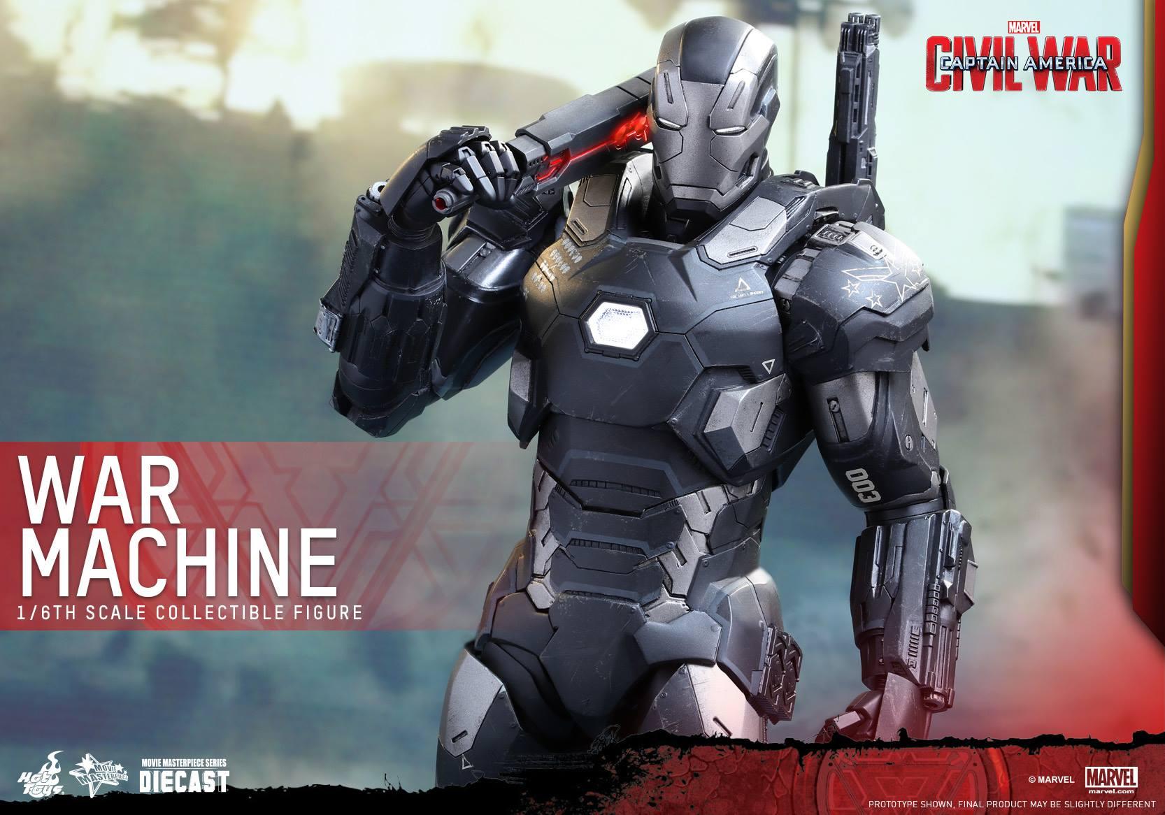 Hot Toys MMS344D15 CAPTAIN AMERICA: CIVIL WAR - WAR MACHINE MARK III