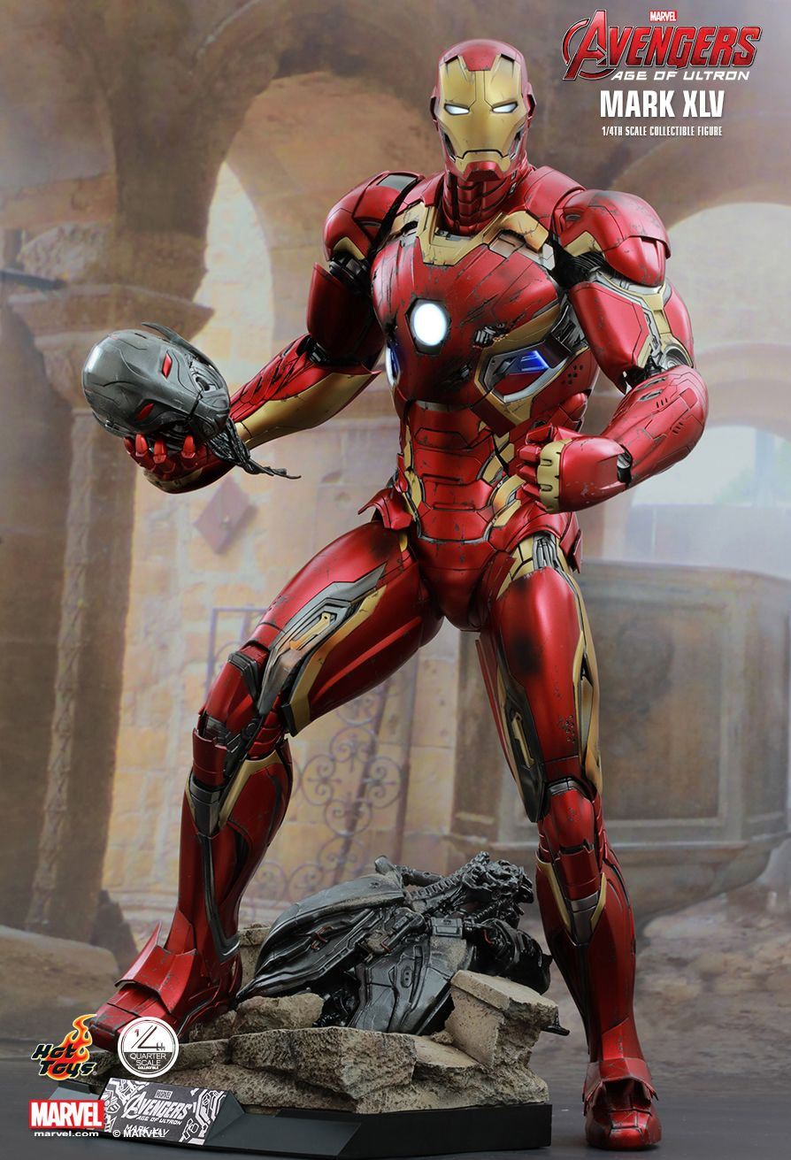 Hot Toys QS006 AVENGERS: AGE OF ULTRON - MARK XLV 1/4th scale