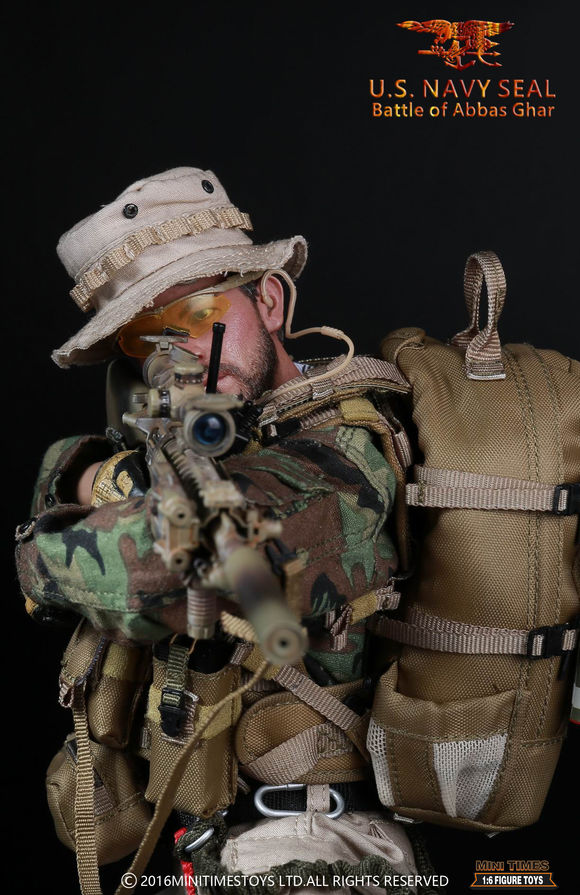 Mini times toys M005 U.S. NAVY SEAL IN THE BATTLE OF ABBAS GHAR