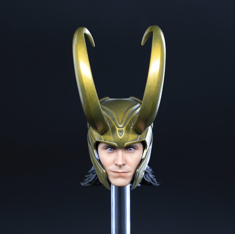 Carve Art CA008 1/6 Loki Headsculpt and Accessories