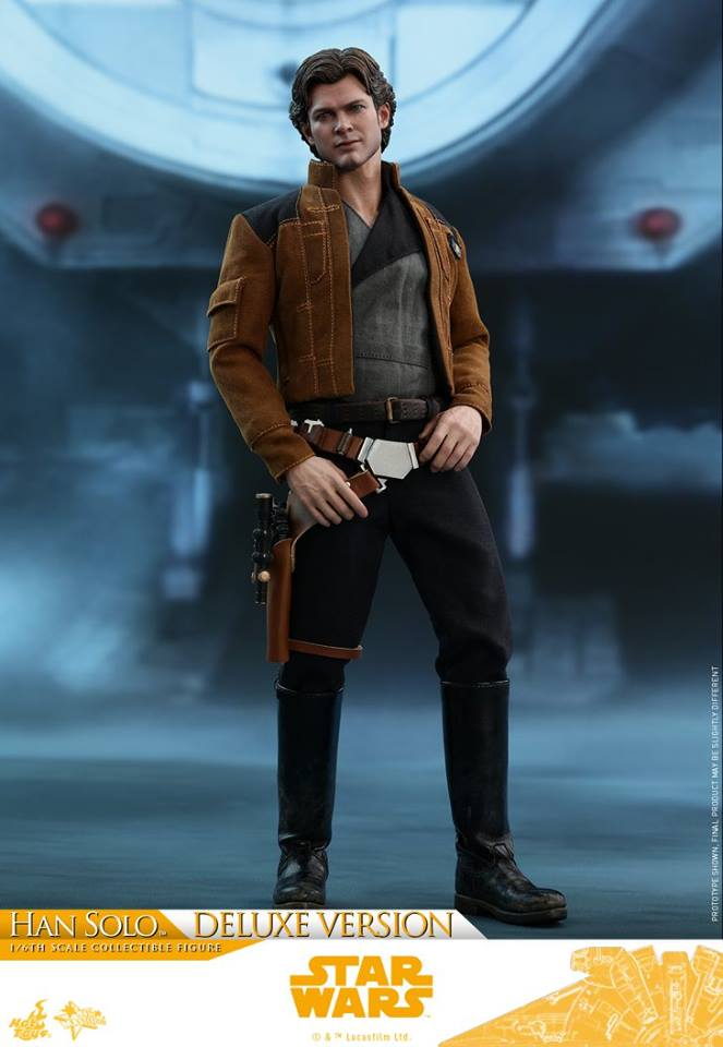 Hot Toys MMS492 SOLO A STAR WARS STORY - HAN SOLO (DELUXE VERSION)