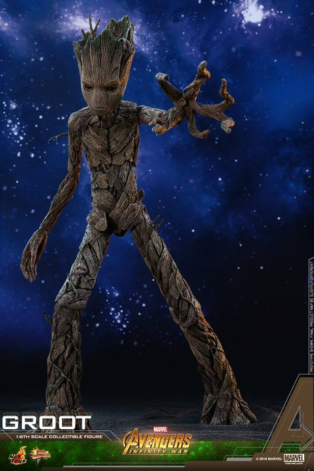 Hot Toys MMS475 AVENGERS: INFINITY WAR - GROOT