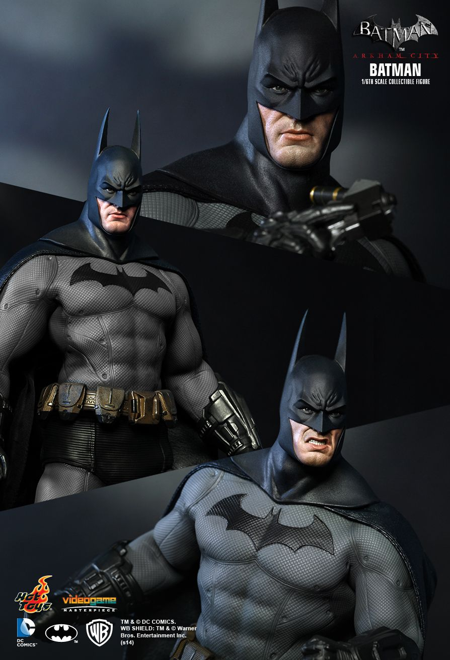 HOT TOYS VGM18 BATMAN: ARKHAM CITY