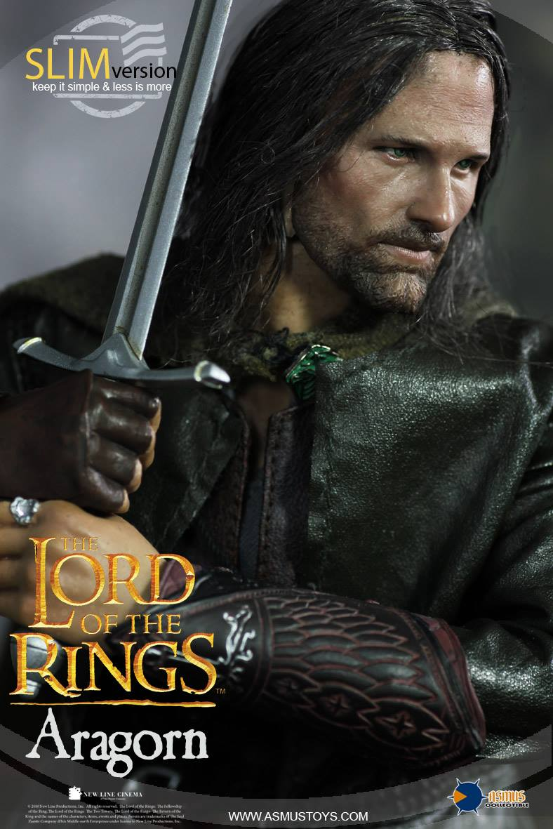 Asmus Toys LOTR008s The Lord of the Rings Series - Aragorn (SlimVersion)
