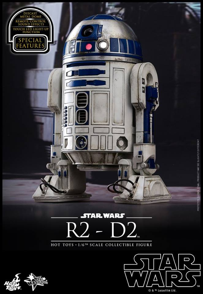 Hot Toys MMS408 STAR WARS: THE FORCE AWAKENS - R2-D2