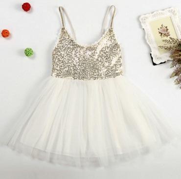 Pre-order ปลีก - เดรส / Size 120 / สีขาว