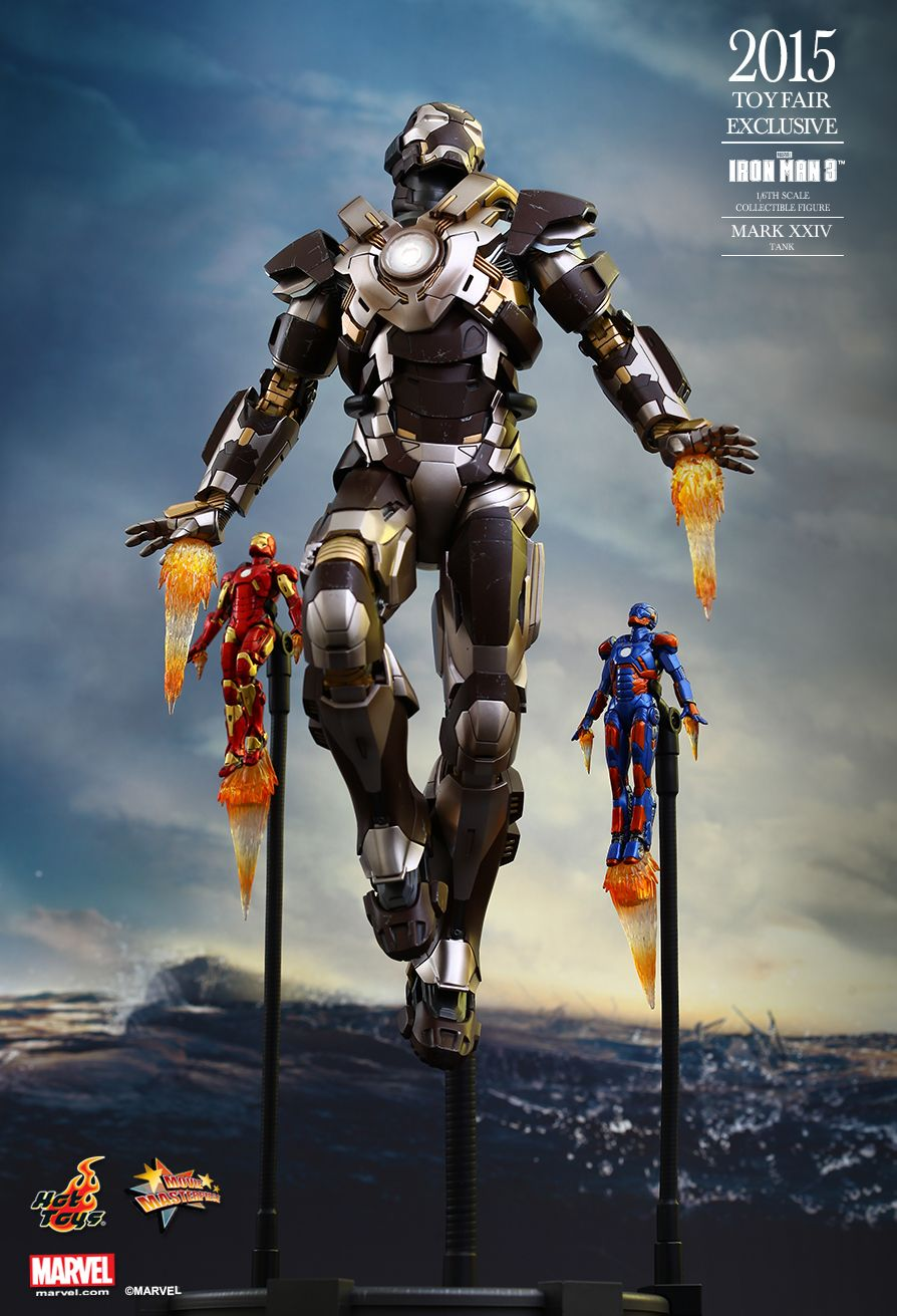 Hot Toys MMS303 IRON MAN 3 - TANK (MARK XXIV)