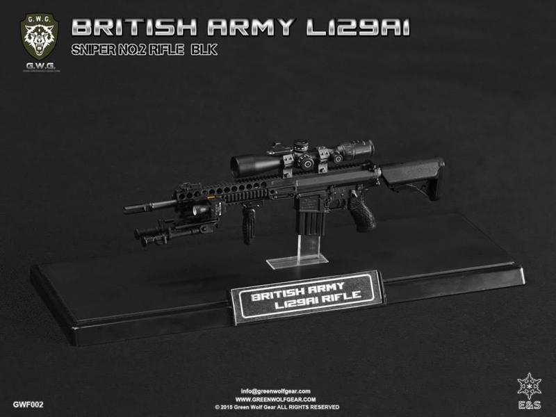 Easy & Simple BRITISH ARMY L129A1 SNIPER BLK