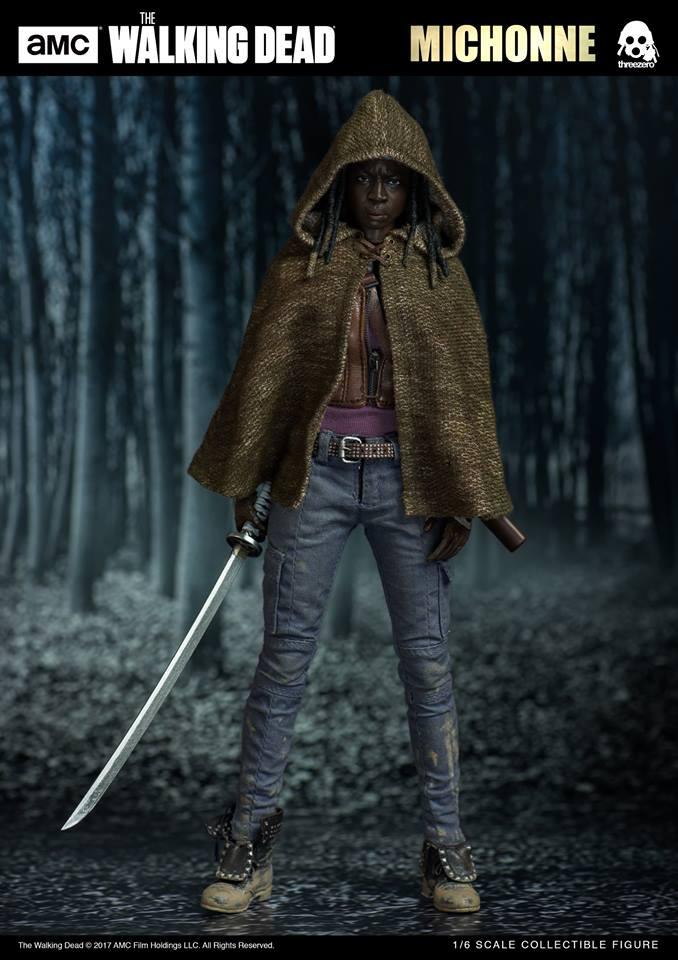 ThreeZero 3Z0019 AMC The Walking Dead - Michonne