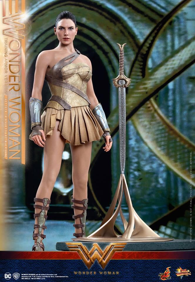01/07/2017 Hot Toys MMS424 WONDER WOMAN - WONDER WOMAN (TRAINING ARMOR VERSION)