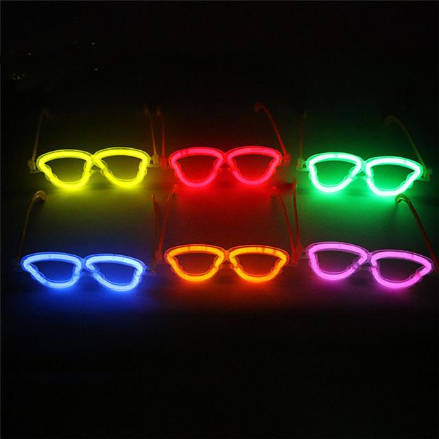 แว่นเรืองแสง รูปหัวกระโหลก