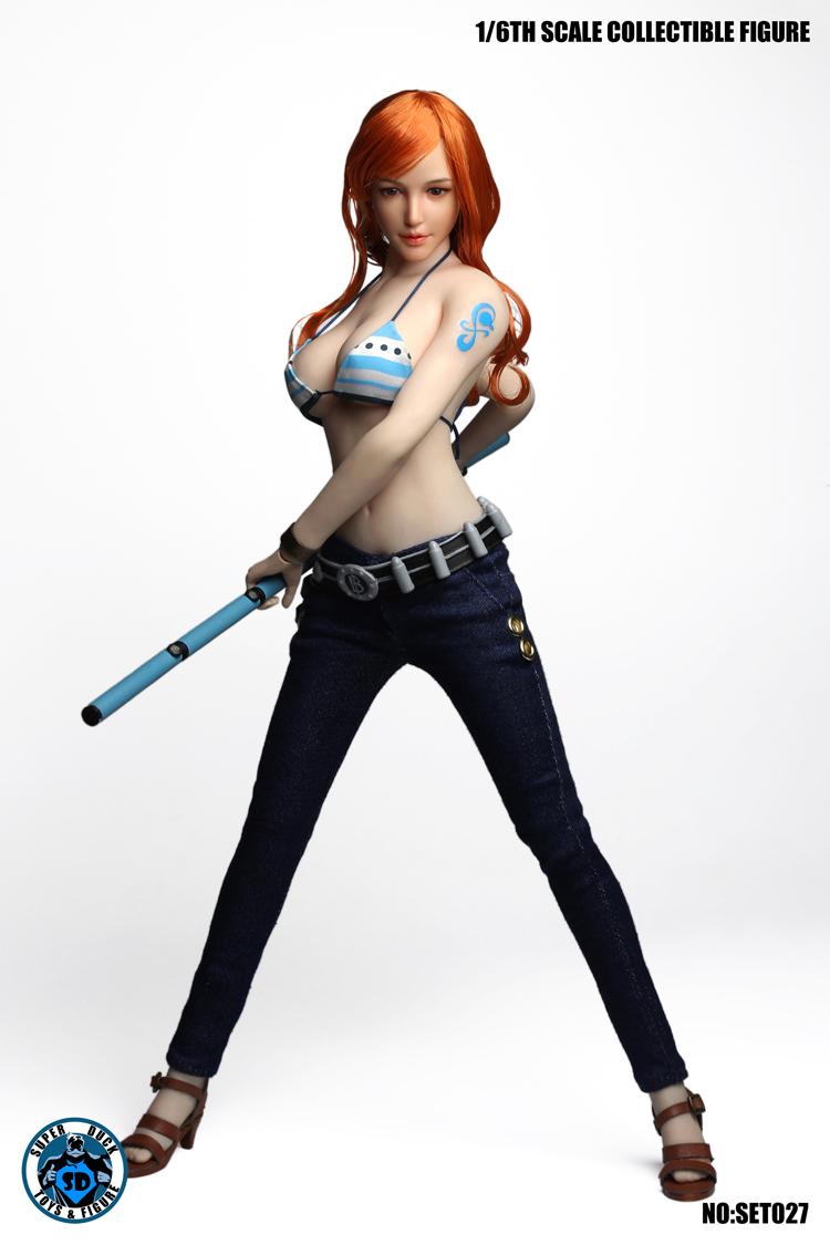 SUPER DUCK SET027 Cosplay - Sexy seaman headsculpt dress set