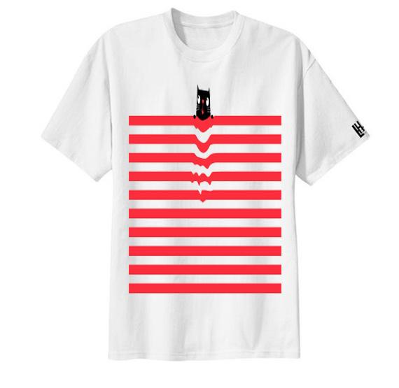 เสื้อลาย เส้นแถบแดง