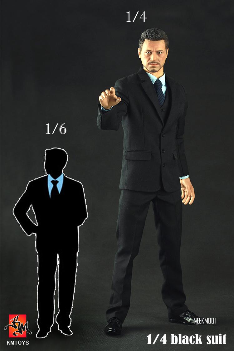 KMTOYS KM001 1/4 th scale black suit