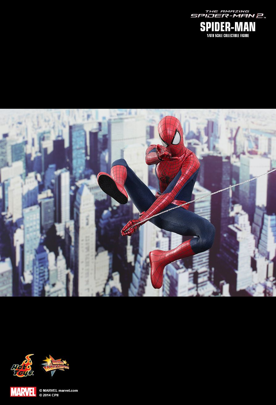 Hot Toys MMS244 THE AMAZING SPIDER-MAN 2 - SPIDER-MAN