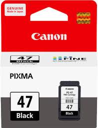 ตลับหมึกแท้ Canon 47 สีดำ Black ราคา 350 บาท