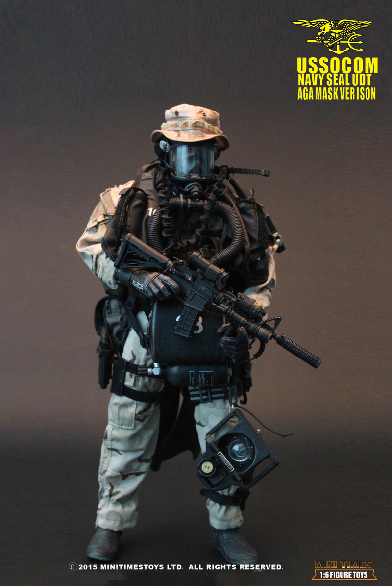 MINI TIMES M002 USSOCOM Navy Seal UDT AGA Mask Version