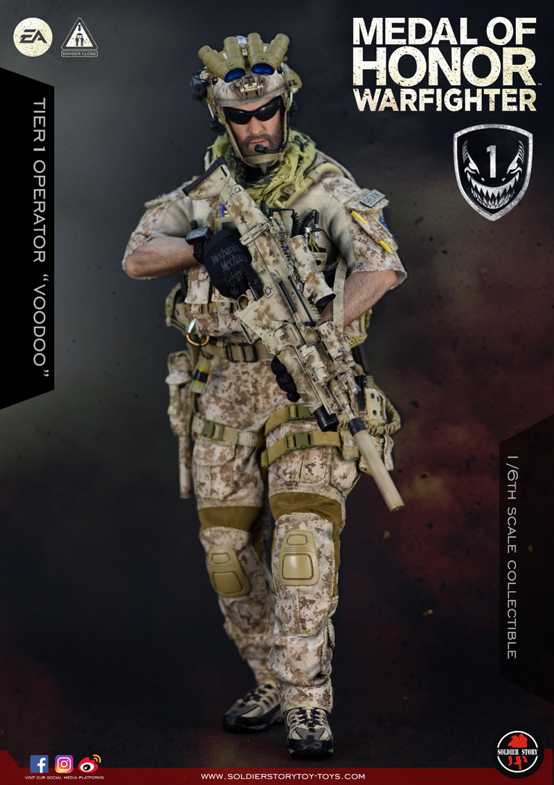 "Soldier Story SS106 Medal Of Honor: Warfighter - Tier 1 Operator ""Voodoo"""