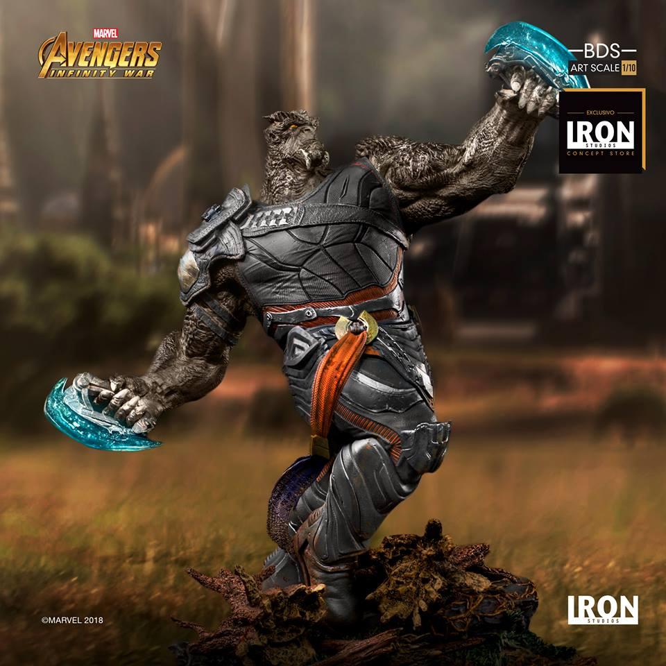 Iron Studios - Cull Obsidian BDS Art Scale 1/10 Avengers Infinity War