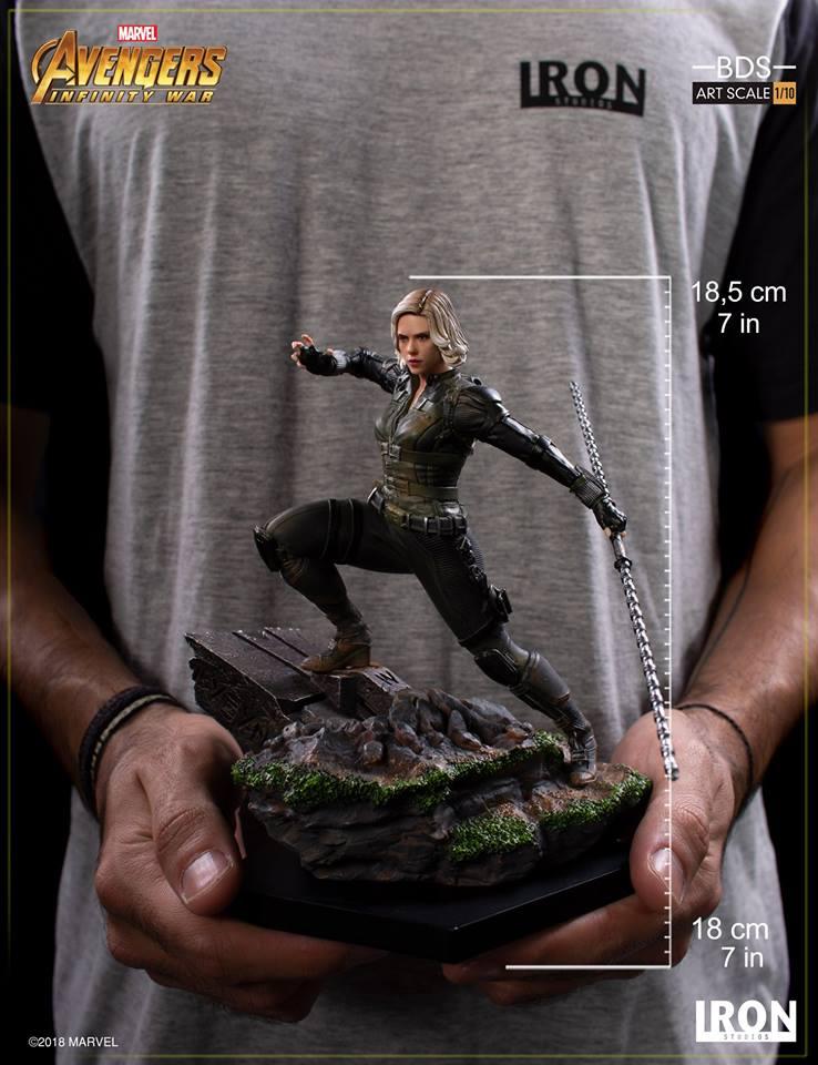 Iron Studios - Black Widow BDS Art Scale 1/10 Avengers Infinity War