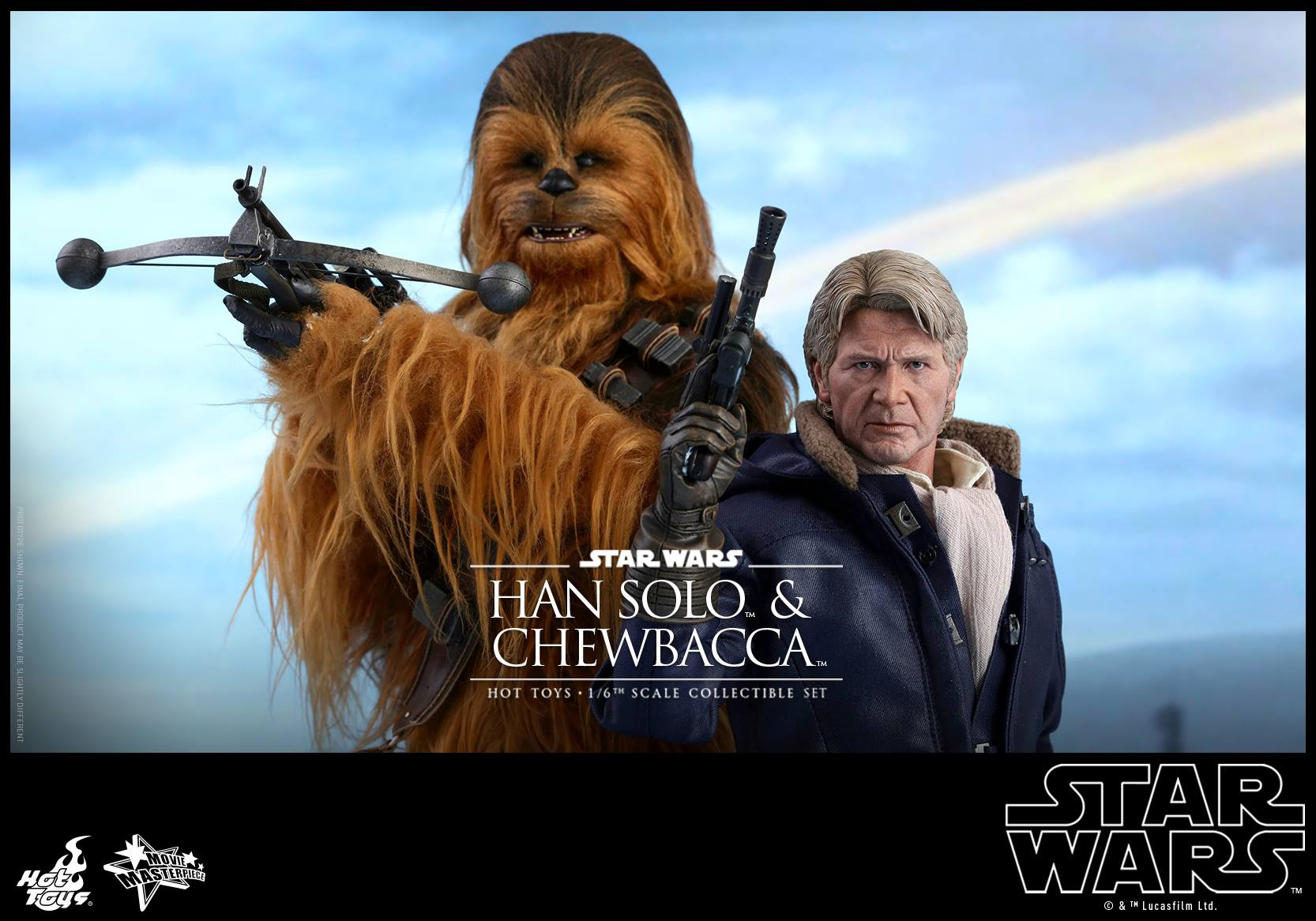 Hot Toys MMS376 STAR WARS: THE FORCE AWAKENS - HAN SOLO & CHEWBACCA