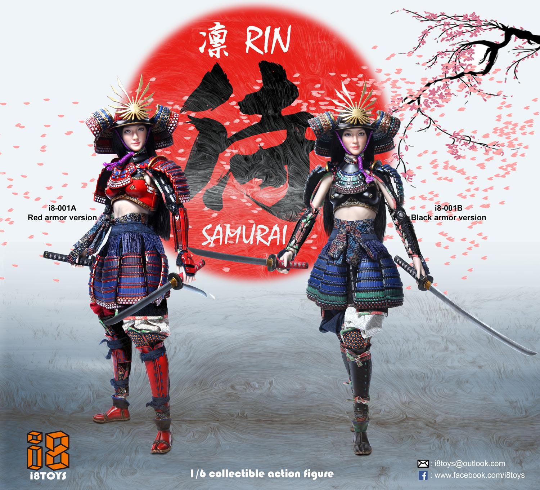 i8TOYS i8-001 1/6 Female Samurai - RIN