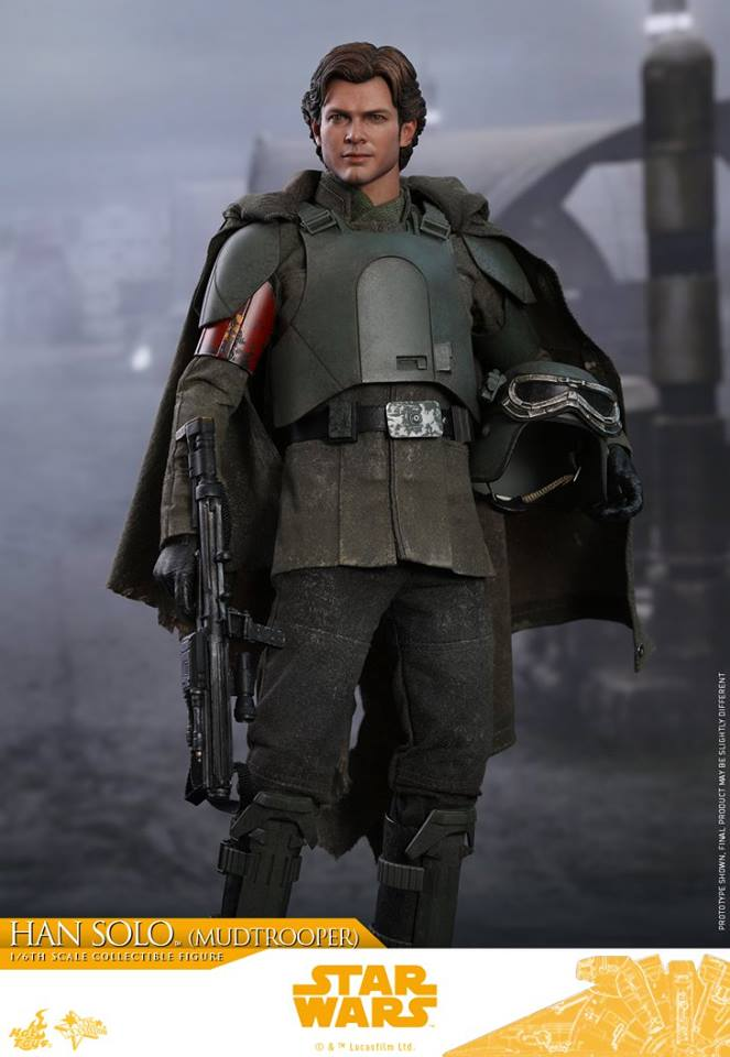 29/06/2018 Hot Toys MMS493 SOLO: A STAR WARS STORY - HAN SOLO (MUDTROOPER)