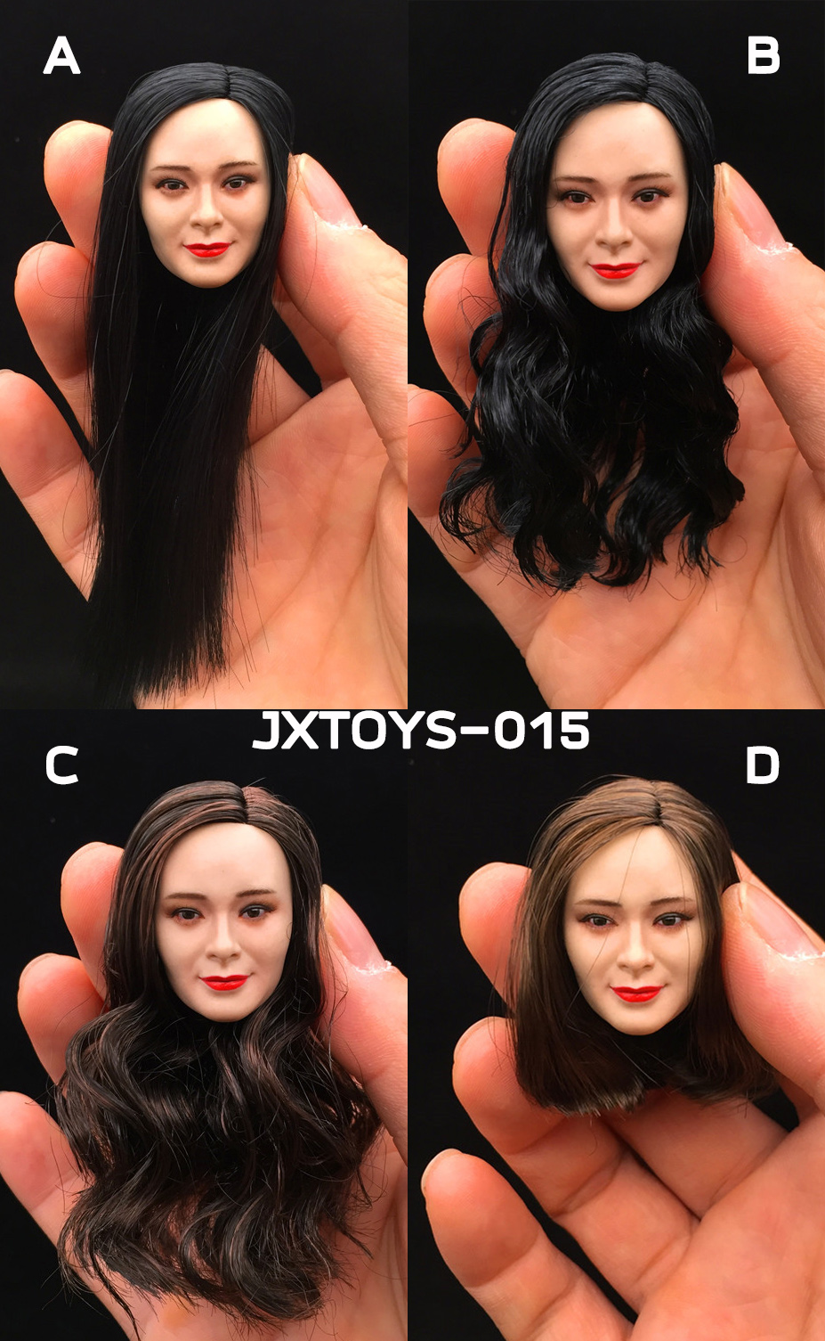 JXTOYS JX-015 Asian headsculpt - Yang Mi