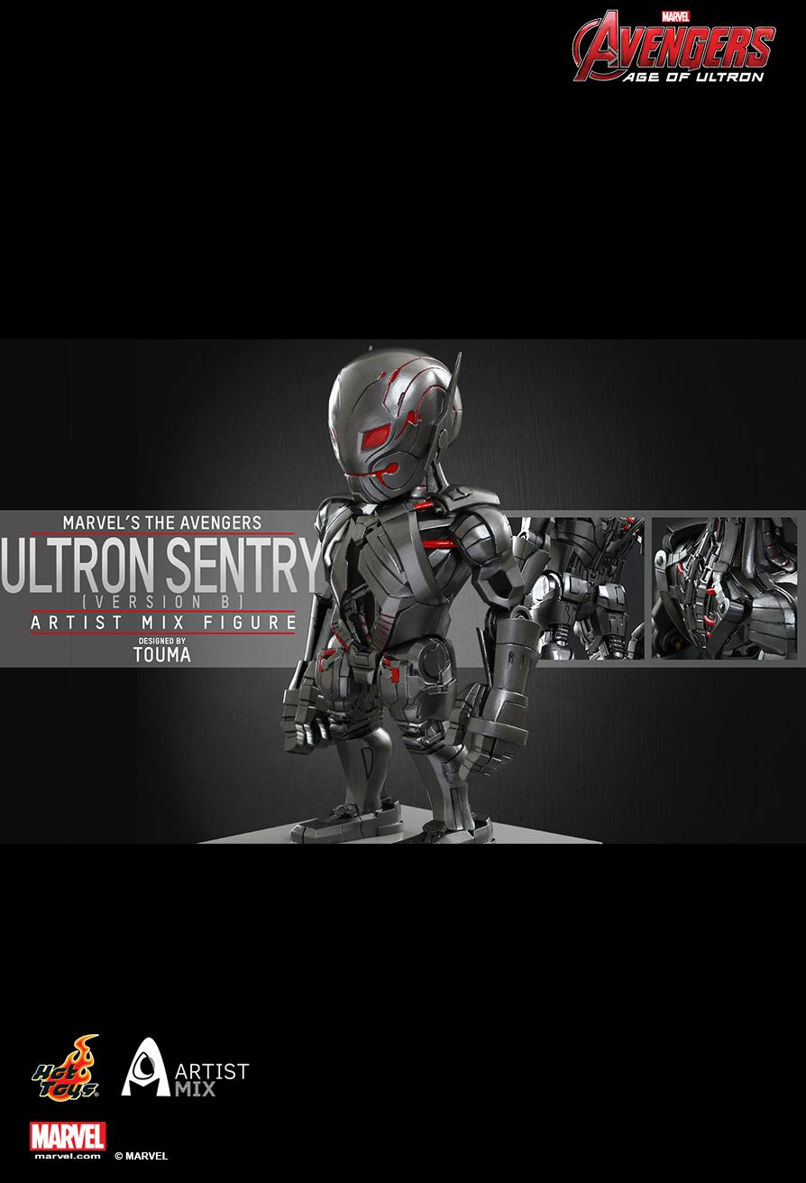 HOT TOYS AMC006 TOUMA ULTRON SENTRY B