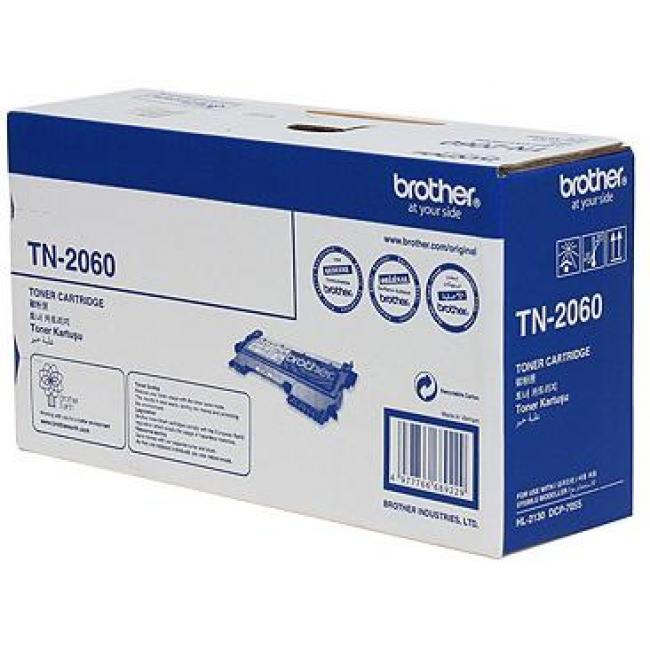 Brother TN-2060 ตลับหมึกแท้ สีดำ ราคา 950 บาท